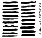 brush strokes for text fields.... | Shutterstock .eps vector #1517945534