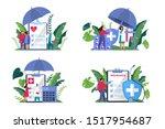 health insurance concept web... | Shutterstock .eps vector #1517954687