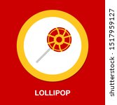 vector lollipop  lollipop... | Shutterstock .eps vector #1517959127