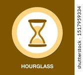 hourglass sign icon. sandglass... | Shutterstock .eps vector #1517959334