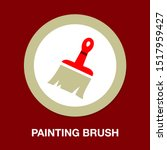 vector painting brush... | Shutterstock .eps vector #1517959427