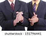 clapping hands for welcome and... | Shutterstock . vector #151796441