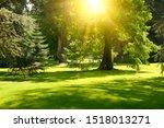 sunrise beam in the beautiful... | Shutterstock . vector #1518013271