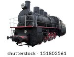 Old Locomotive For Design