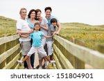 multi generation family walking ... | Shutterstock . vector #151804901
