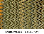 Multicolored vertical wave pattern on a horizontal field - stock photo