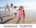 multi generation family having... | Shutterstock . vector #151807325