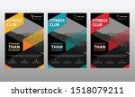 brochure flyer annual report... | Shutterstock .eps vector #1518079211