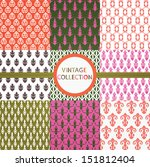 vintage collection | Shutterstock .eps vector #151812404