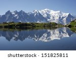 Mont Blanc Reflected In...