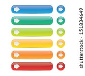 colorful buttons with arrows | Shutterstock .eps vector #151834649