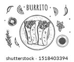 illustration of classic mexican ...   Shutterstock . vector #1518403394