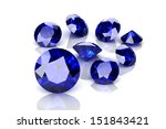 blue sapphire | Shutterstock . vector #151843421