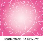 abstract background curly...
