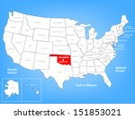 vector map of the united states ... | Shutterstock .eps vector #151853021