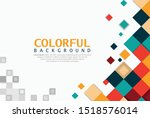 new colorful background simple... | Shutterstock .eps vector #1518576014
