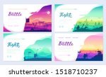 ancient dead army warriors... | Shutterstock .eps vector #1518710237