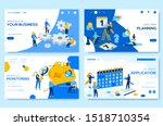 modern vector illustration of... | Shutterstock .eps vector #1518710354