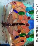 Stained Glass Lamp Putting...