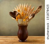 Tropical Dried Flowers In...