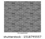 seamless brick wall textured... | Shutterstock .eps vector #1518795557