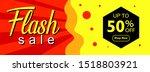 flash sale banner background...   Shutterstock .eps vector #1518803921