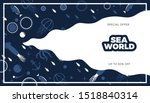 sea life panoramic background... | Shutterstock .eps vector #1518840314