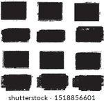 grunge post stamps collection ... | Shutterstock .eps vector #1518856601