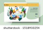 enjoying family activities ...   Shutterstock .eps vector #1518933254