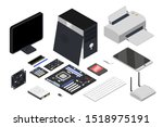 Computer Devices Isometric...