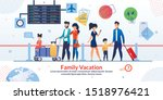 family vacation travelling... | Shutterstock .eps vector #1518976421