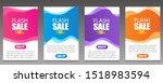 vector modern fluid for big... | Shutterstock .eps vector #1518983594