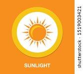 sun sign icon  vector sunlight  ...   Shutterstock .eps vector #1519003421