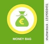 Money Bag Icon  Money Sign...