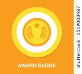 award icon  vector badge ... | Shutterstock .eps vector #1519003487