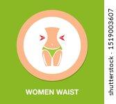 women waist icon  female... | Shutterstock .eps vector #1519003607
