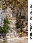 Entrance To A Greek House With...