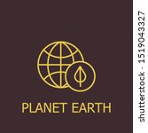 outline planet earth vector...   Shutterstock .eps vector #1519043327