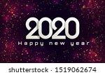bokeh sparkle christmas 2020...   Shutterstock .eps vector #1519062674