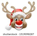 Christmas Reindeer Red Nosed...