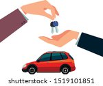 car buying and selling vector... | Shutterstock .eps vector #1519101851