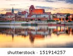 Torun Old Town Reflected In...