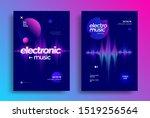 electronic music festival...   Shutterstock .eps vector #1519256564