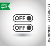 on off switch symbol. on off...