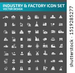 industrial vector icon set... | Shutterstock .eps vector #1519285277