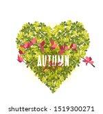 vector illustration of heart... | Shutterstock .eps vector #1519300271
