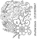 True Love Never Ends Font With...