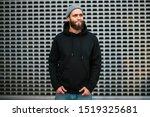 city portrait of handsome... | Shutterstock . vector #1519325681
