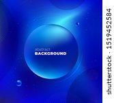 blue liquid color background... | Shutterstock .eps vector #1519452584