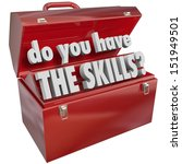 do you have the skills words in ... | Shutterstock . vector #151949501